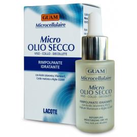 GUAM microcellulaire, huile pour peau sèche, visage
